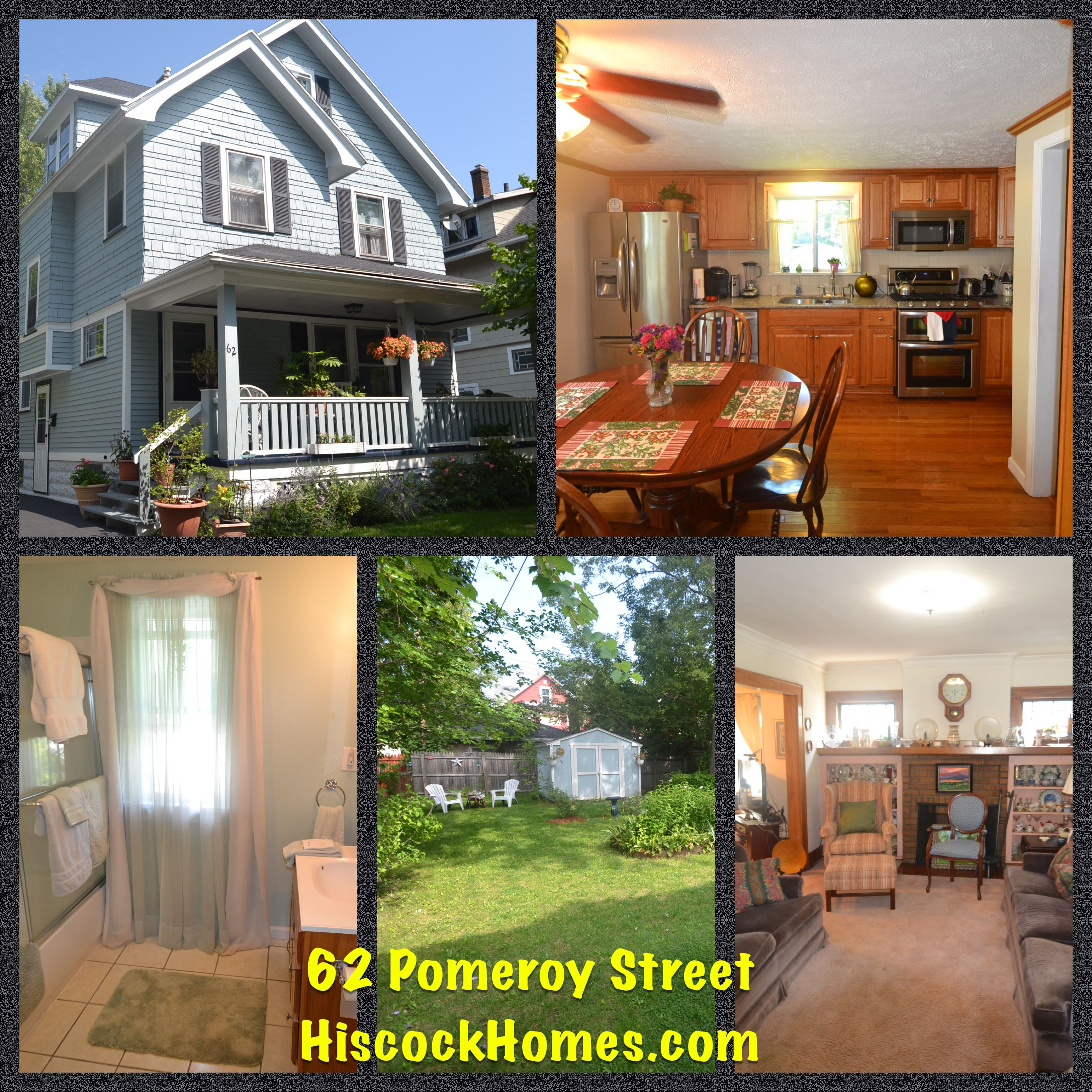 Just listed 62 pomeroy street in the city of rochester is