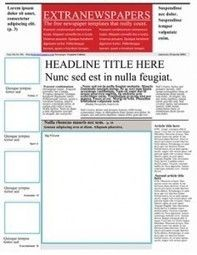 Newspaper template pack for word perfect for school creating creating newspapers in the classroom saigontimesfo