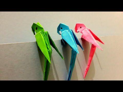 origami taube falten mit papier einfachen diy vogel. Black Bedroom Furniture Sets. Home Design Ideas