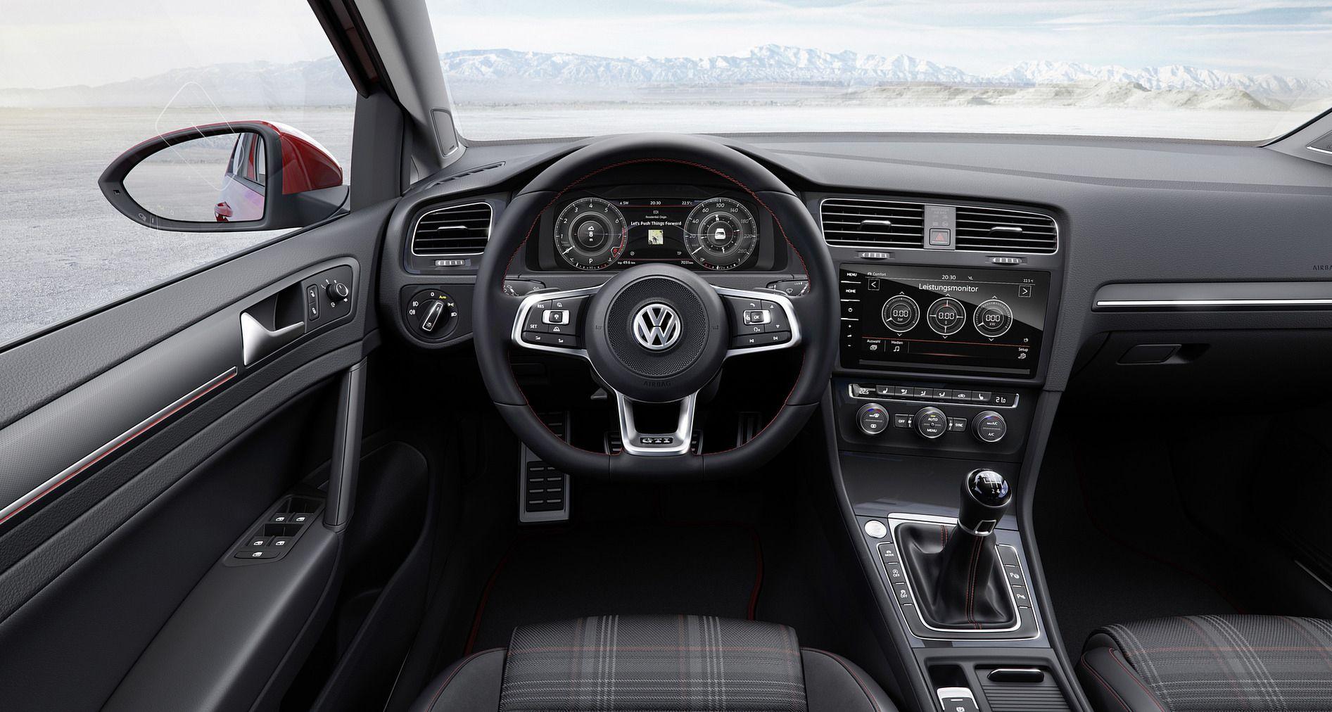 Volkswagen golf 7 2017 restylage