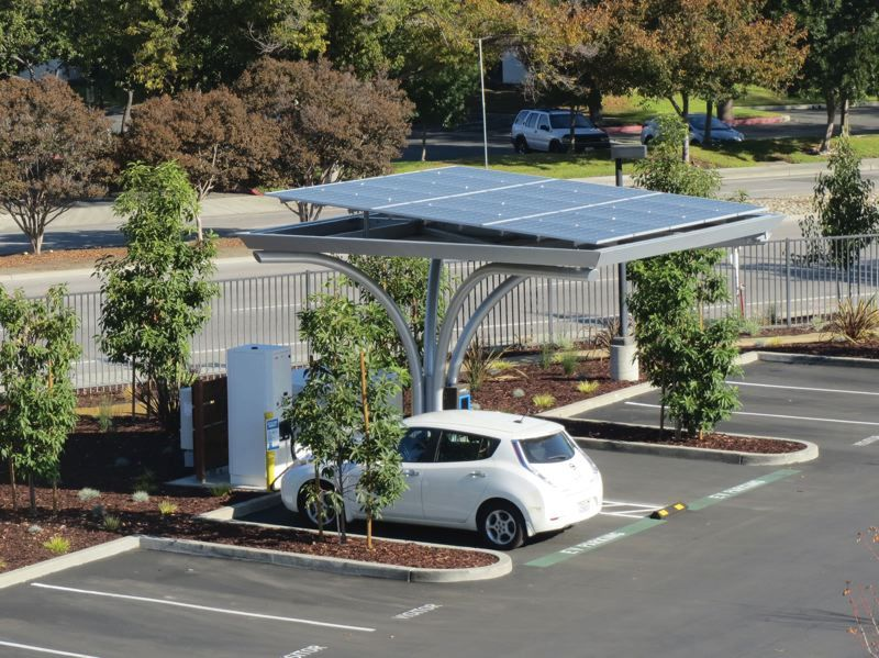 Here Comes The Sun Electric Car Charging Electric Vehicle Charging Station Electric Cars