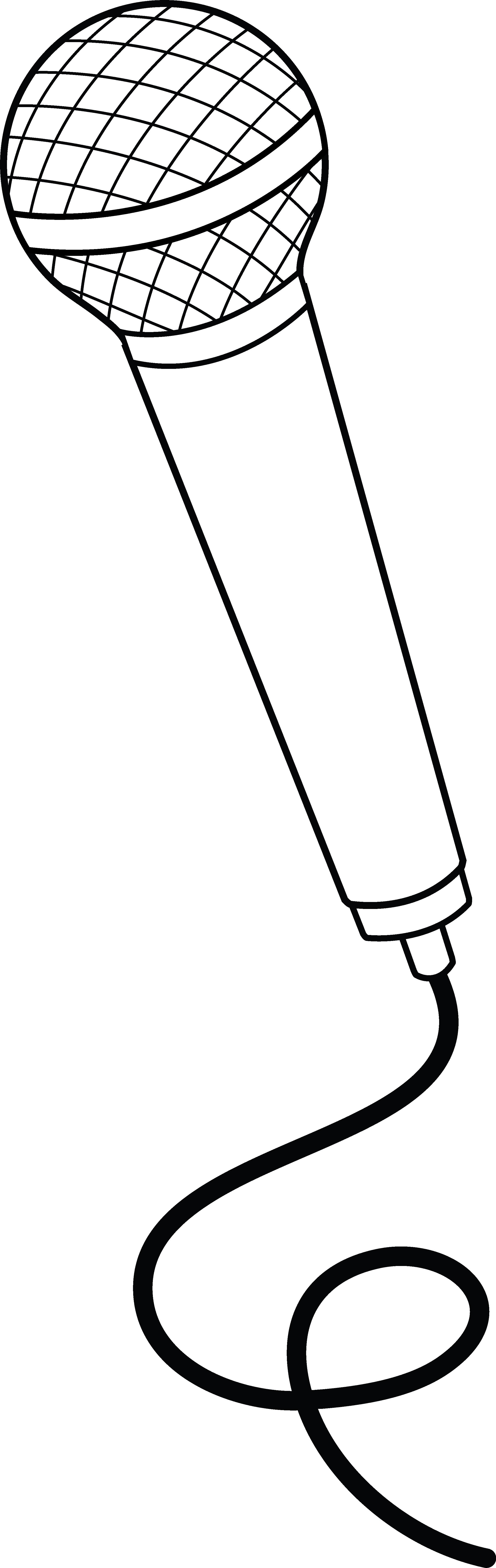 mikrofon malvorlage   Coloring and Malvorlagan