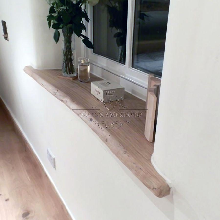 Mensole in legno massello da parete in abete  Mensole e