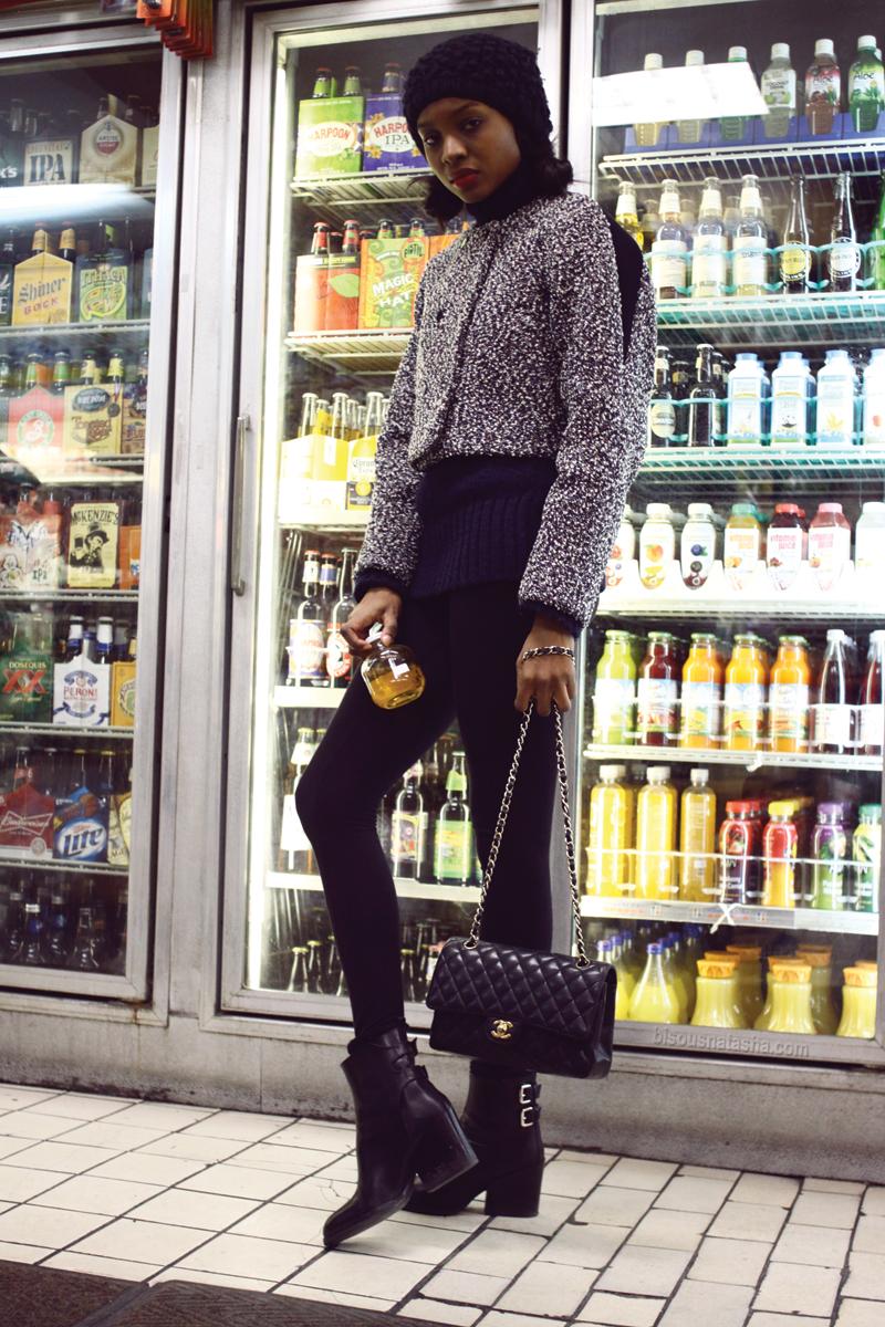 #MMissoni | Black & White winter 2013-14 Jacket | Bisous Natasha: New York City Diary