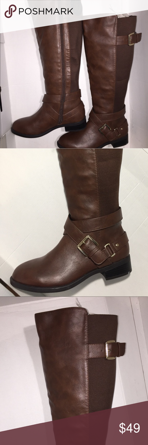 8126122e99a4 Thaliasodi Vada Tall Wide-calf wide-width Riding A Thalia Sodi Shoes ...