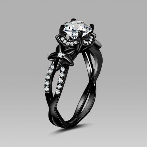 b20d55317072 30 Originales anillos de compromiso que volverán loca a cualquier ...