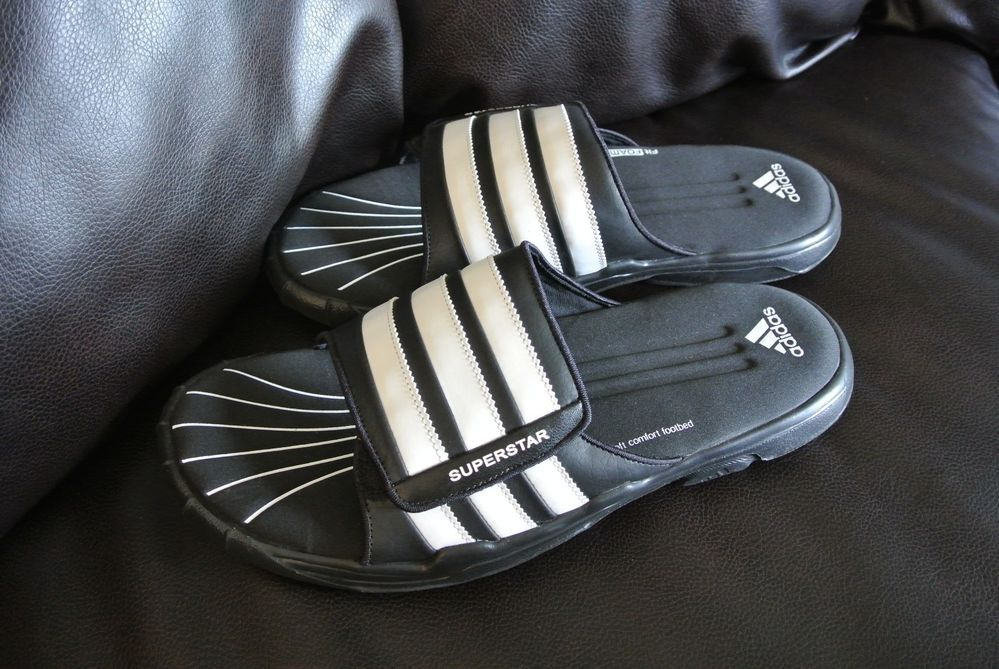 Size Mens Fitfoam Slides Adidas Superstar 14 Sandals Shoes Comfort APvnSq