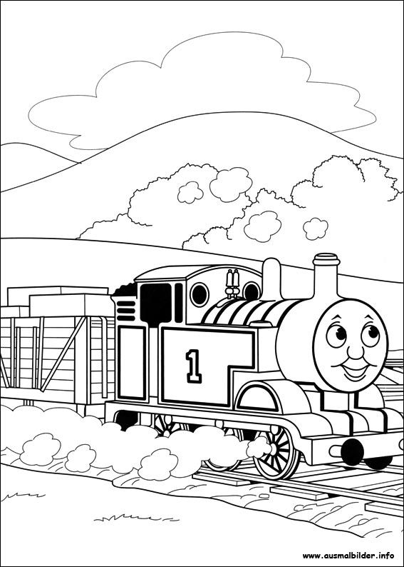 Thomas Und Seine Freunde Malvorlagen Thomas And Friends Coloring Pages Coloring Pages For Kids