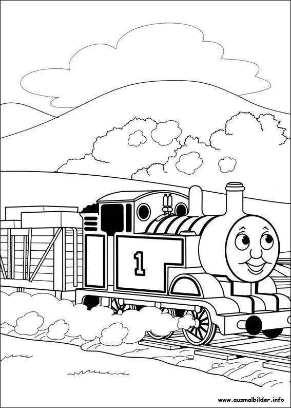 Thomas Und Seine Freunde Malvorlagen Ausmalbilder Malvorlagen
