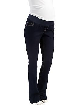 Maternity Low-Panel Boot-Cut Jeans | Old Navy | Mama Pics ...