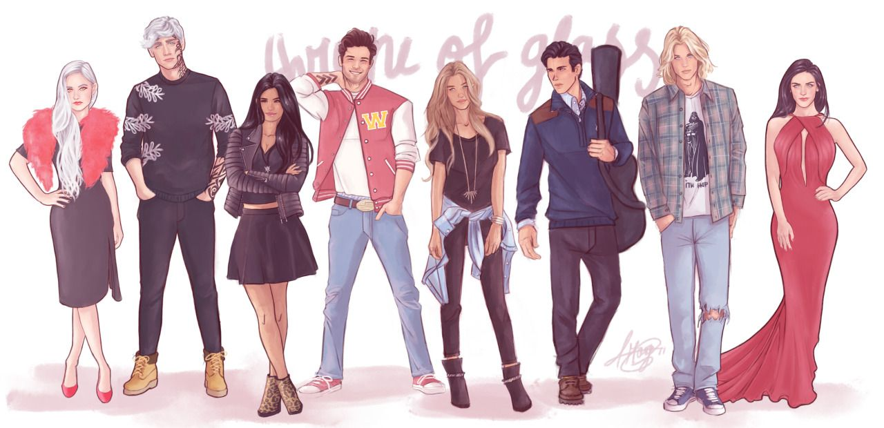 "Modern Day AU - ""Throne of Glass"" Squad 