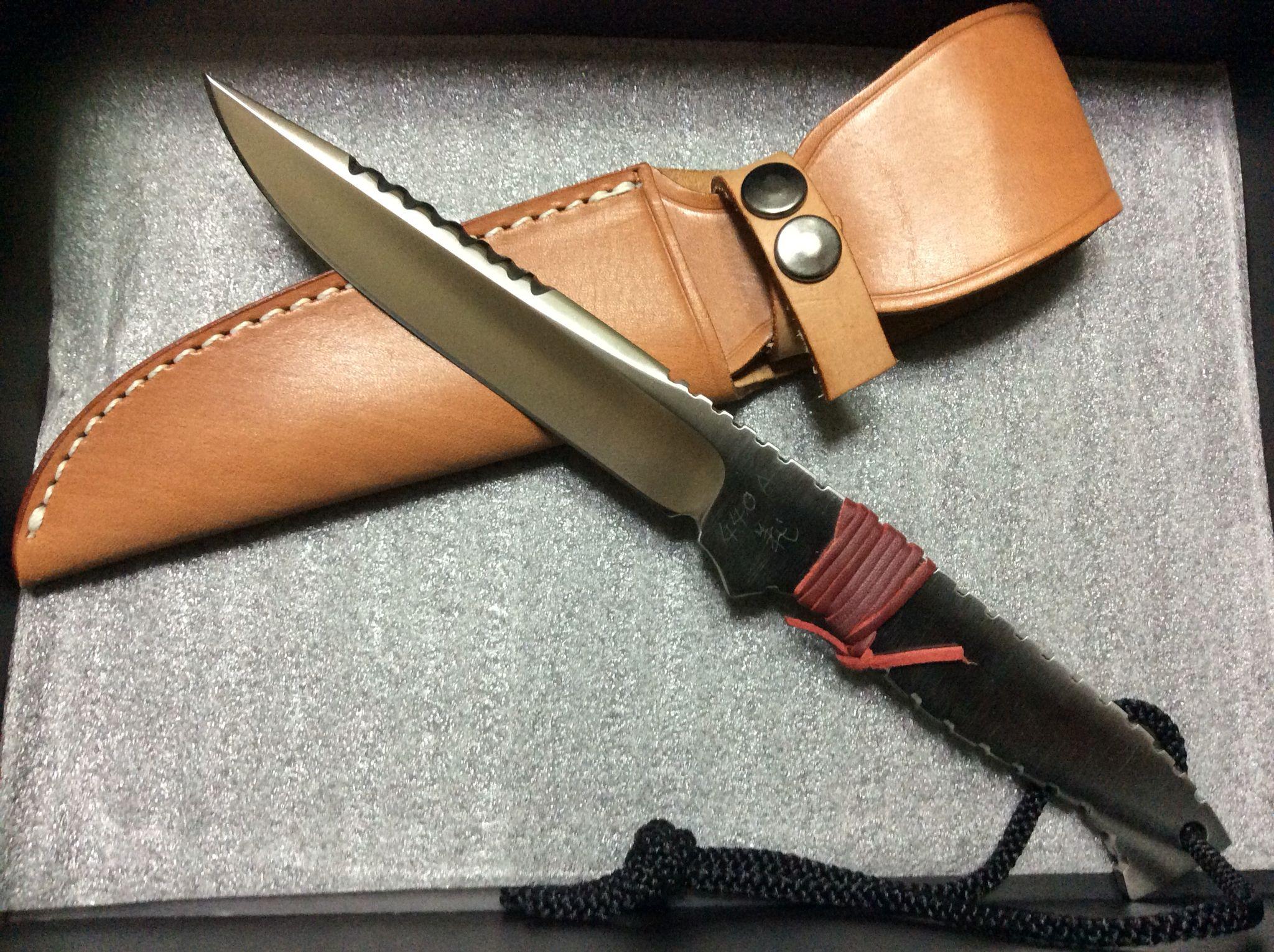 440A 「義」 Fukuda knife