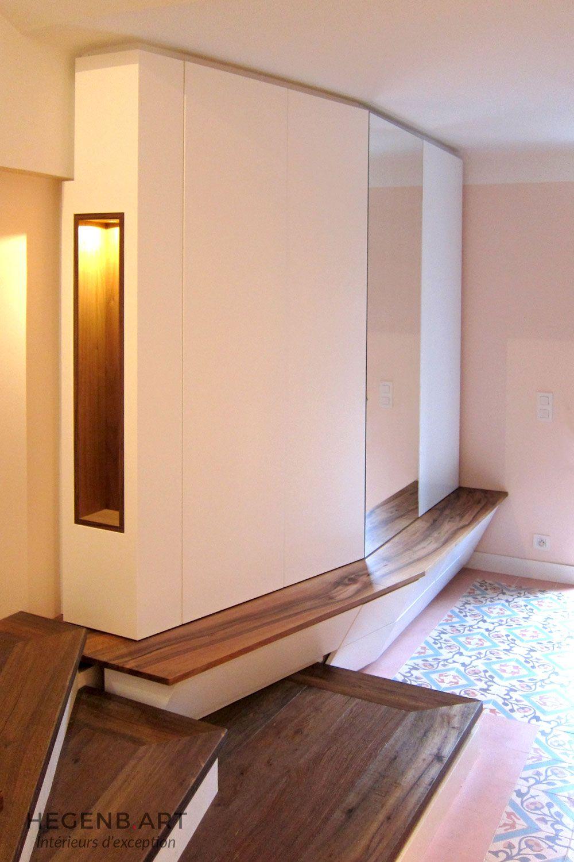 meuble d'entrée design et original. pour rangement des manteaux