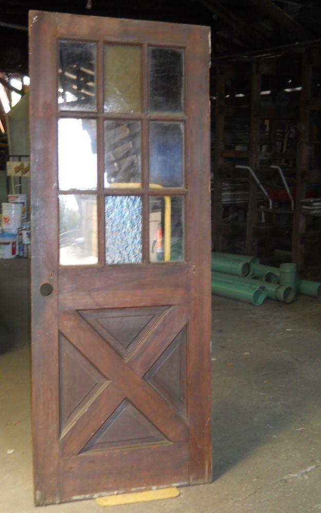 Bon Cross Buck Side Entry Exterior Door