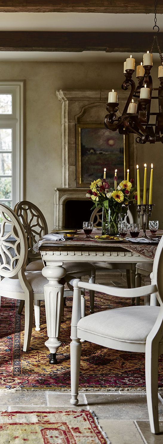 Elliott Country-Rustic Dining Room Collection
