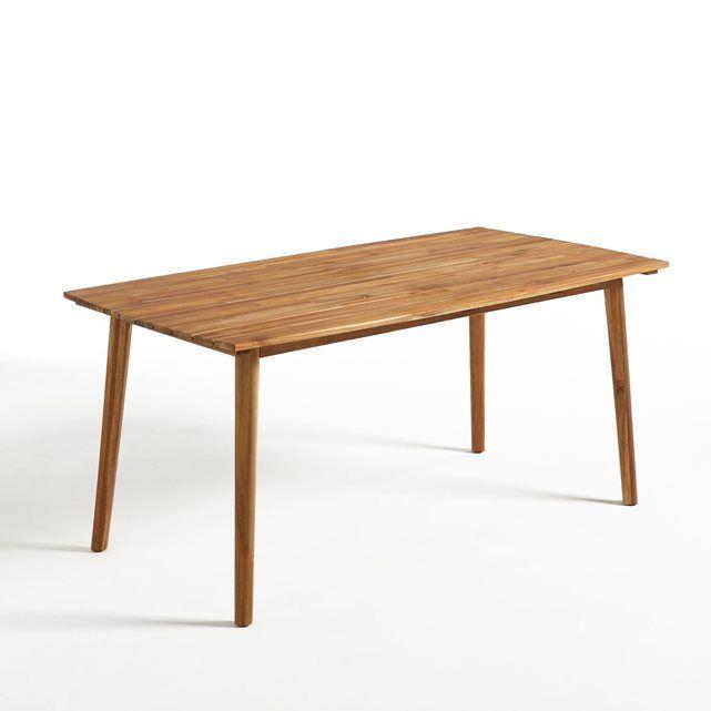 Table de jardin en acacia huilé Julma La Redoute Interieurs ...