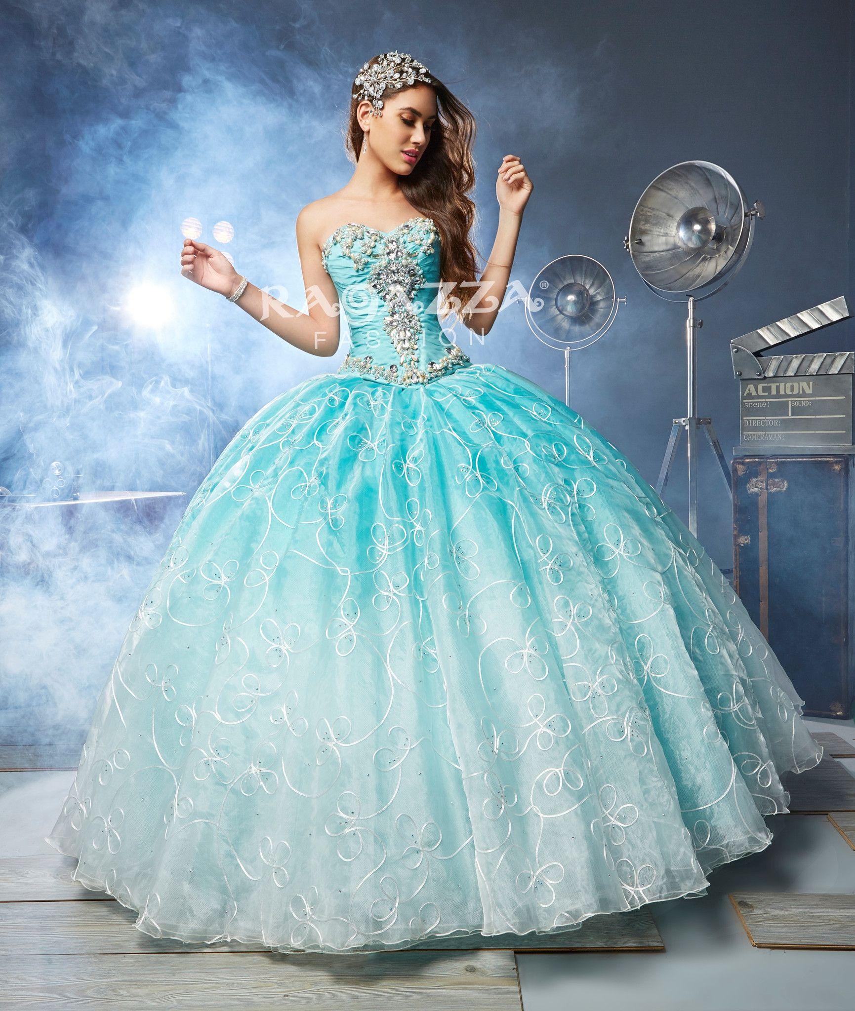 Beaded aline quinceanera dress by ragazza fashion style b