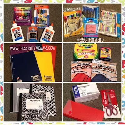 Participating in the #BagItForward mission to donate quality school supplies to a student in need was a pleasure. I purchased a year's worth of supplies for under $ 30.00