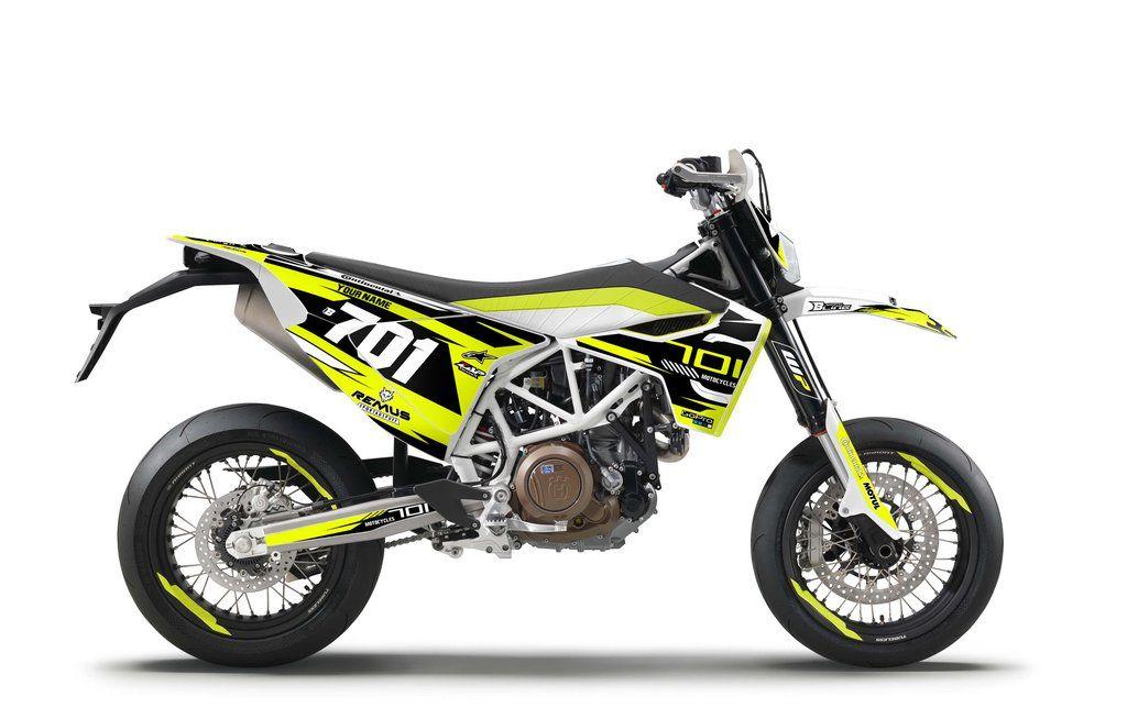 HUSQVARNA DECALS STICKERS ENDURO MOTOCROSS MOTORCYCLE SET