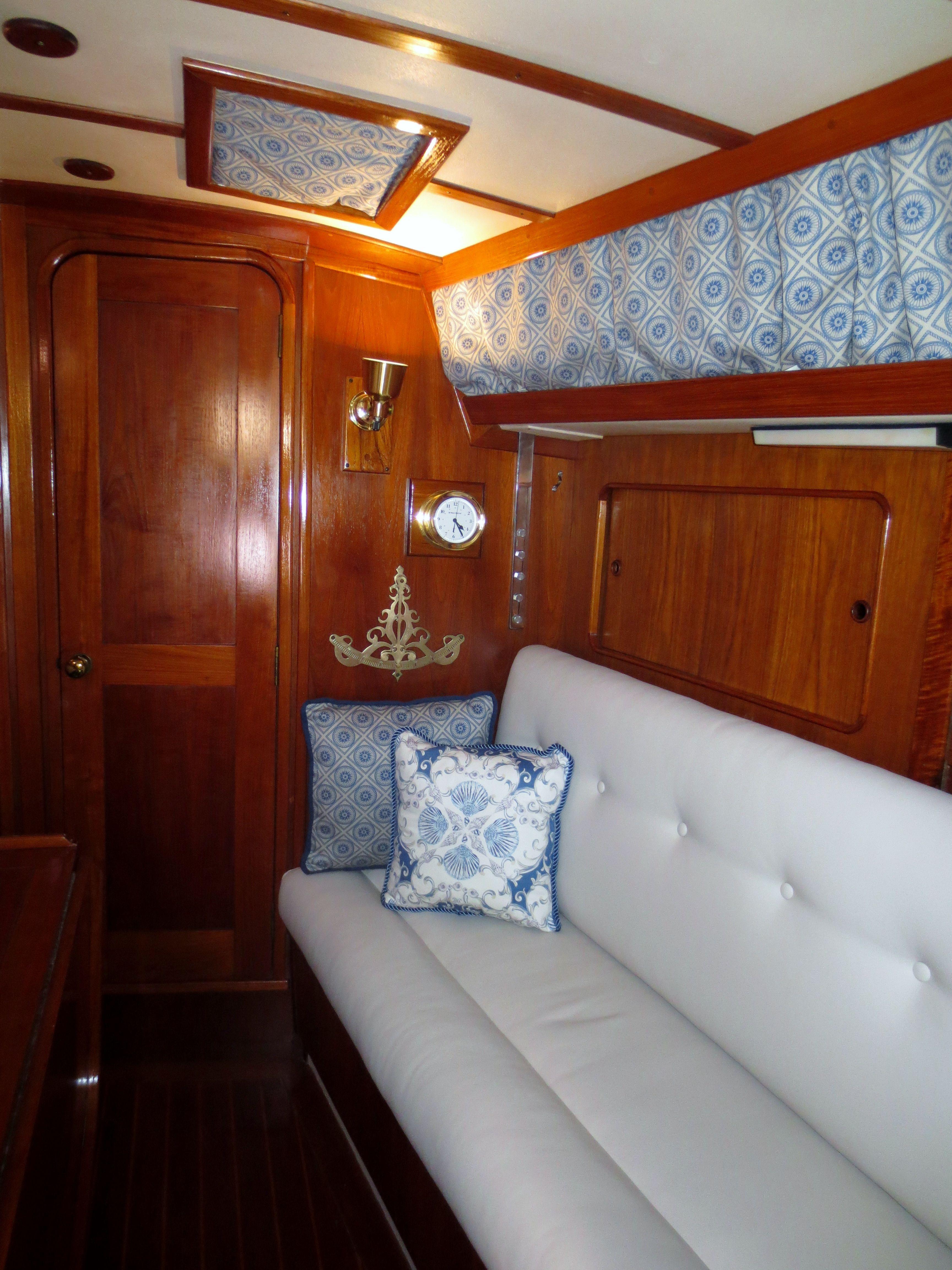 new settee cushions bighter saloon sailboat living pinterest