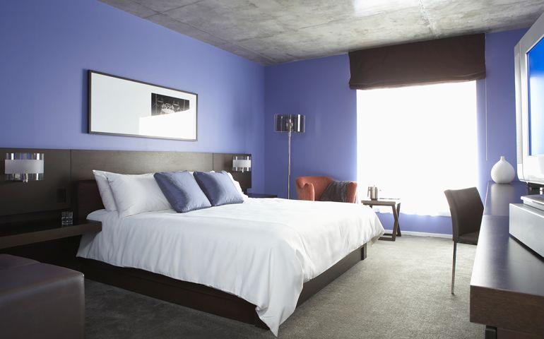 Chambre à coucher idées peinture couleurs sico