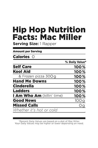 Mac Miller printable poster