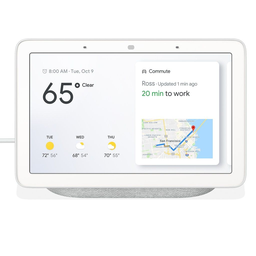 Google Nest Home Hub Smart Screen, Grey in 2019 Google