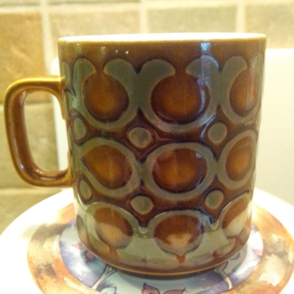 Hornsea Pottery Retro  BRONTE  MUG - John Clappison - 1974 - *LOVELY EXAMPLE*