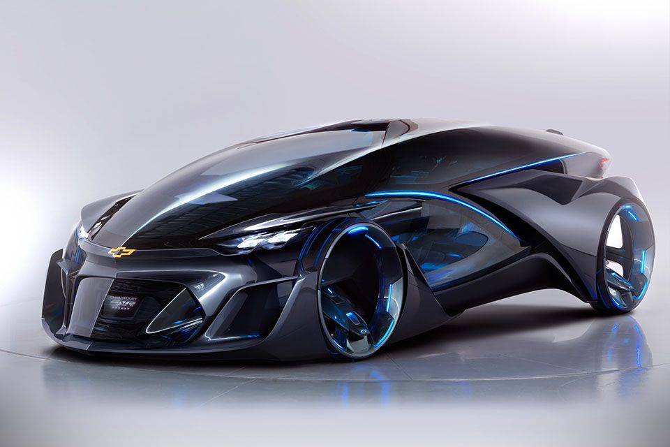 Chevrolet Autonomous Concept Car Is As Futuristic As Any Car Can