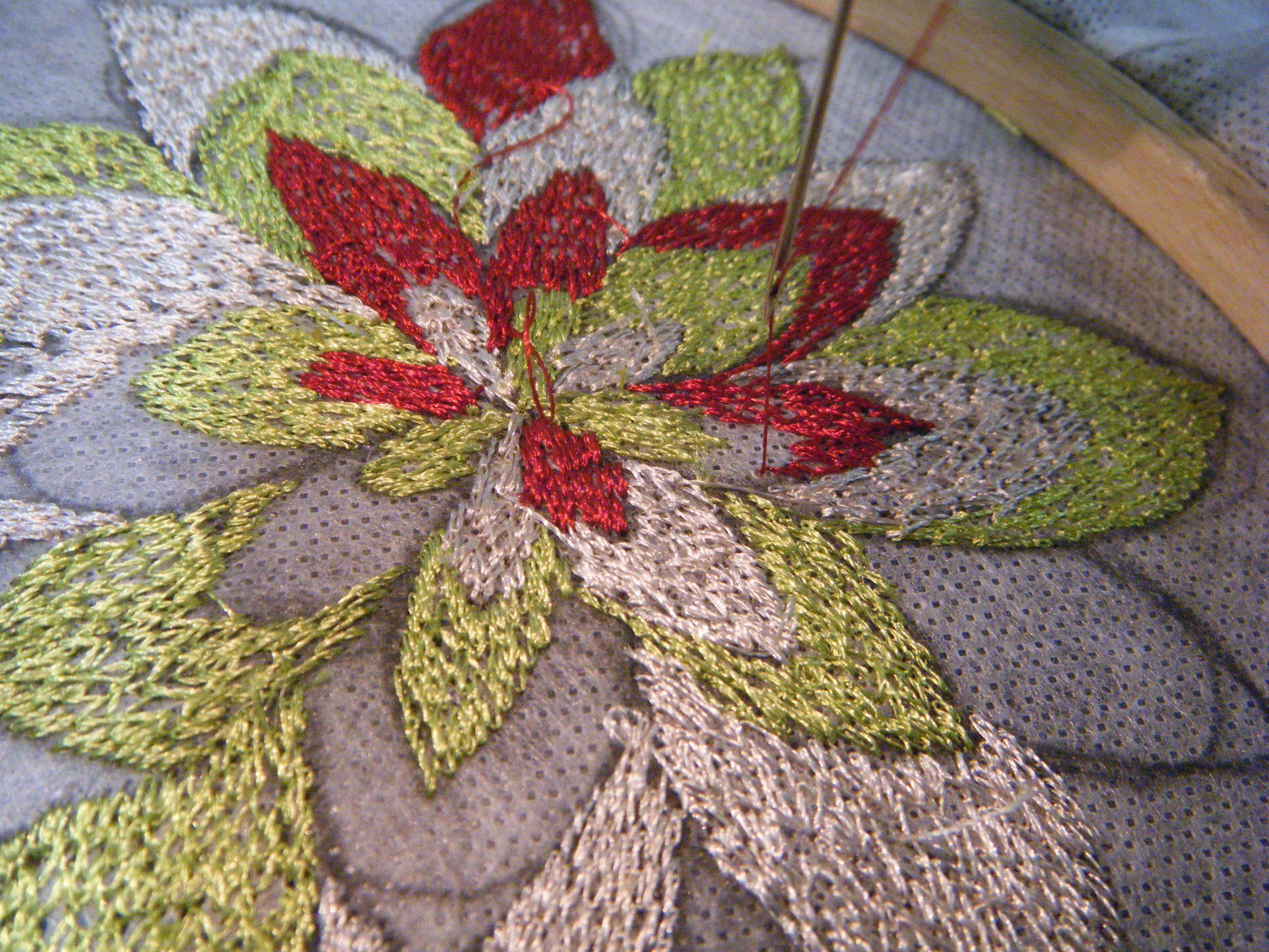 machine broidery