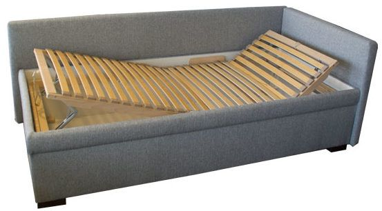 schlafsofa mit verstellbarem lattenrost sofas daybed adjustable daybeds futons. Black Bedroom Furniture Sets. Home Design Ideas