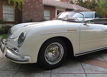 1957 Original Speedster Convertible | Wheels // Porsche 356