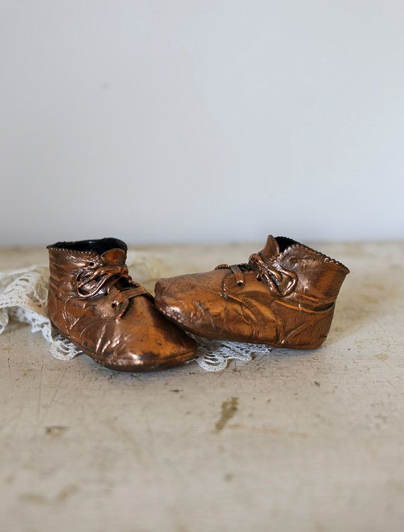 Hey, I found this really awesome Etsy listing at https://www.etsy.com/listing/240251567/copper-baby-shoes