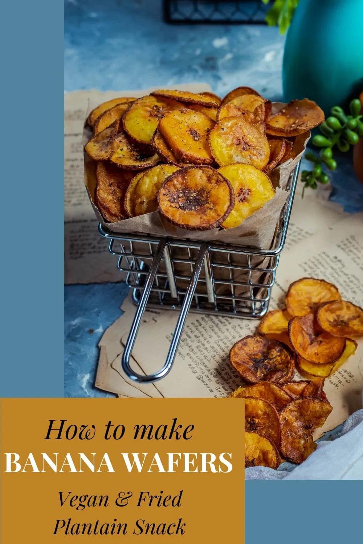 Fried Raw Banana Vegan Chips
