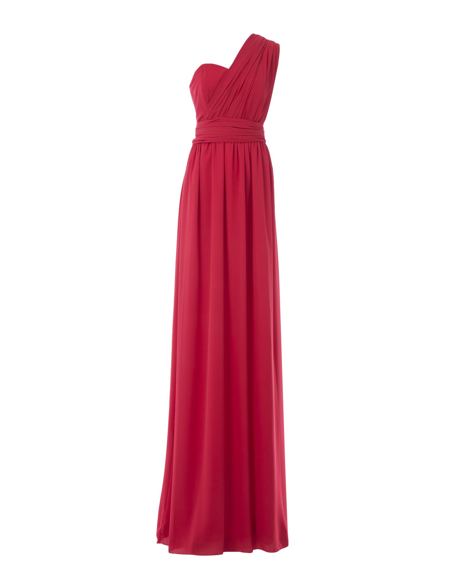 Vestido Atenea Rojo de Miticca by Isabella Gobarodi