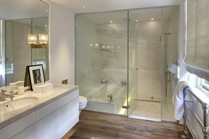 Walk In Bathtub With Shower Enclosure A Good Idea To Save Space