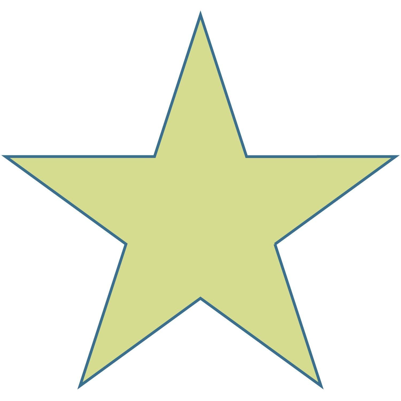 Free Large Printable Star Shapes