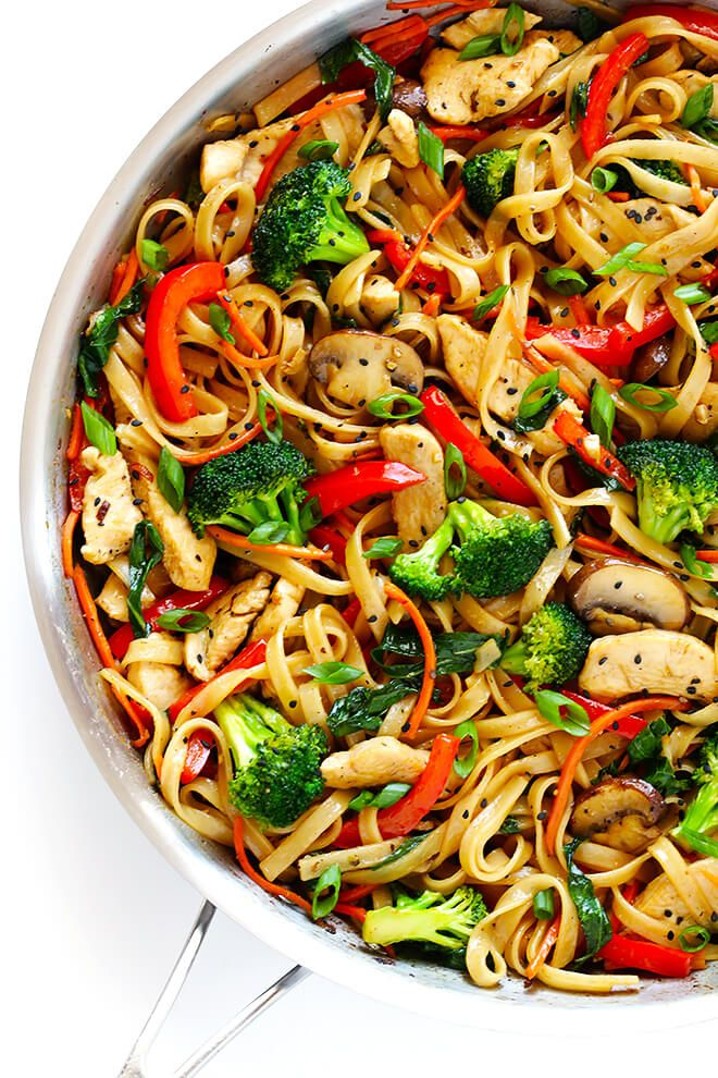 Photo of 30-Minute Sesame Chicken Noodle Stir-Fry | Gimme Some Oven