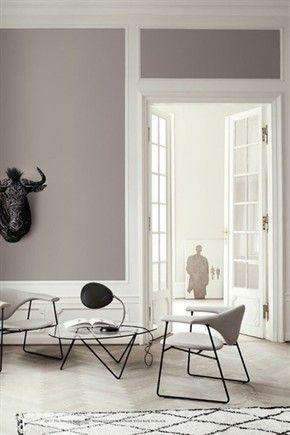 arredare il soggiorno con il color tortora - pareti soggiorno ... - Grigio Tortora Chiaro