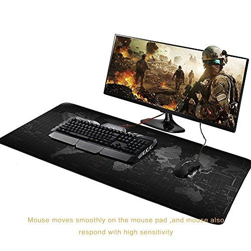 Cheap Jialong Xl Desk Cover Mat Extended World Map Mousepad Desktop Pad Extra Large Desk Mats For Computer Laptop Pc Keyboard 800x400mm Tapis De Souris Tapis De Souris Gamer Souris Gamer