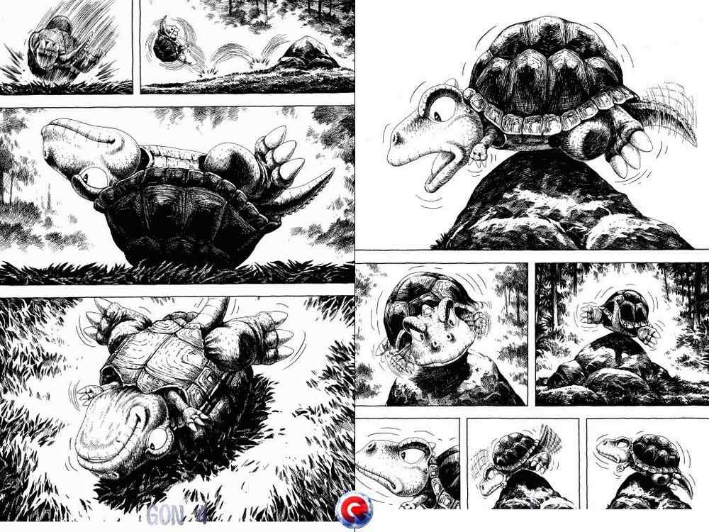 Gon Dinosaur Manga 2634 Interiordesign