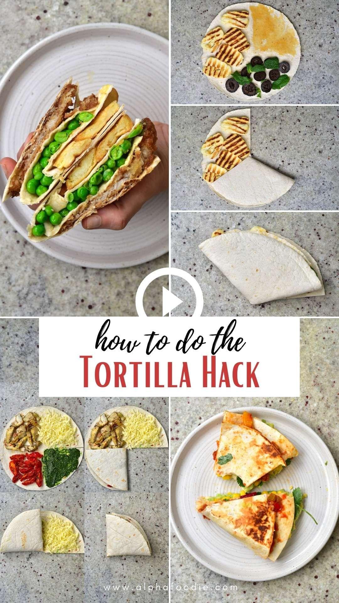 Photo of Easy Tortilla Wrap Recipes