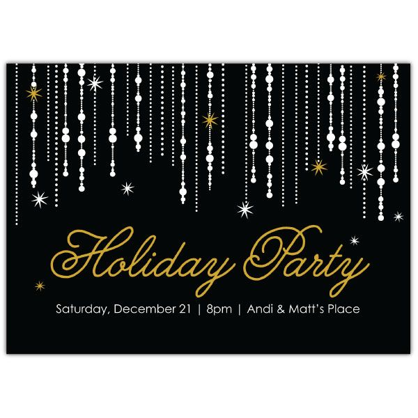 Holiday Garland Invite   2014 Holiday Collection #InkCards