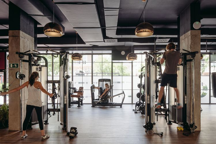club xii boutique gym in madrid by i arquitectura 2017 cnvs gym rh pinterest com