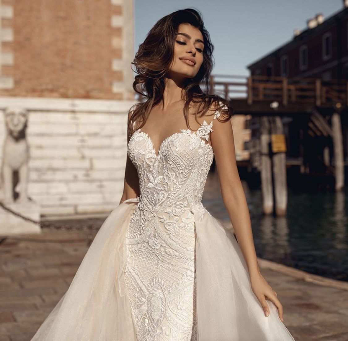 How Perfect Is This Jade Style From Venice Flood Collection Chicagowedding Longdress Classy Vi In 2020 Wedding Dresses Wedding Dress Couture Blush Wedding Gown