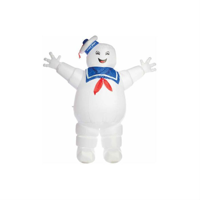 awesome Ghostbusters Stay Puft Inflatable Halloween Decoration Yard - outdoor inflatable halloween decorations