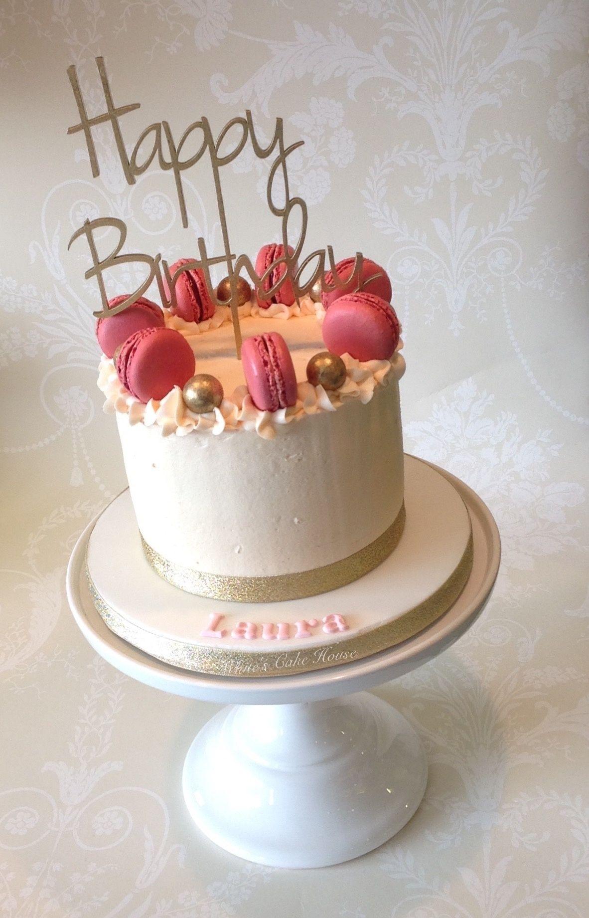 Excellent Birthday Cake Macarons Creative Birthdays Girls Of Birthday Cake Funny Birthday Cards Online Elaedamsfinfo