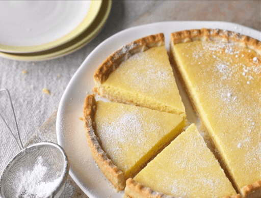Classic Bakewell Tarts Recipe Recipe Easy Lemon Tart Recipe Lemon Tart Recipe Condensed Milk Recipes
