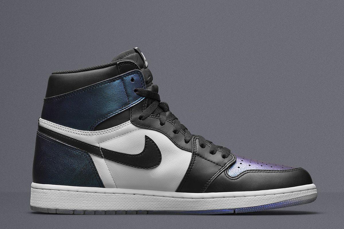 Three Air Jordan Sneakers Go Iridescent For Nba All Star
