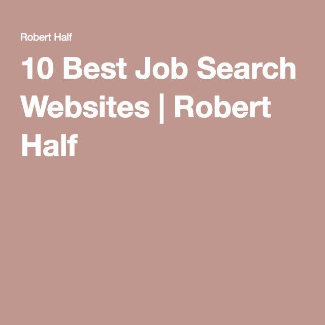 best websites for job hunting